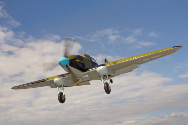 Gary Ritchie's Il-2M3 Sturmovik on approach